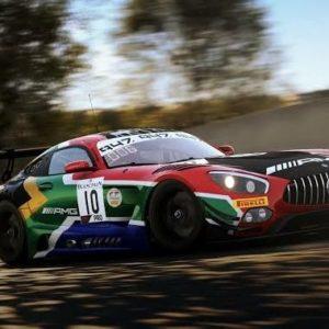 sim racing car