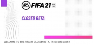 fifa 21 closed beta