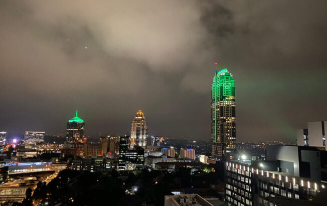 The new Xbox Series X and Series S launched in South Africa this week, by lighting Africa's tallest building green.